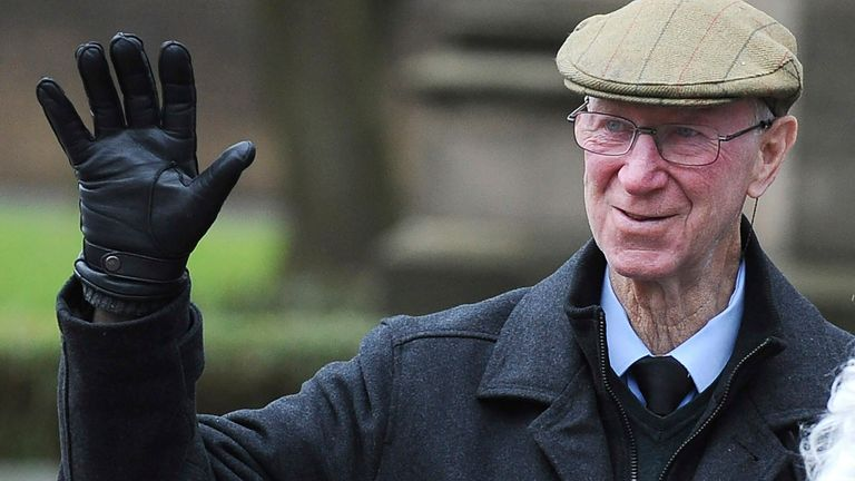 Jack Charlton died with dementia last year