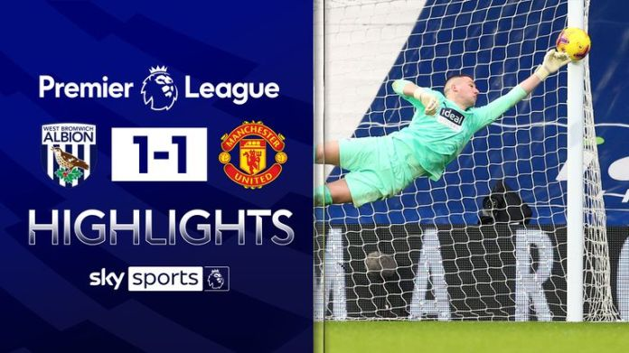 WEST BROM 1-1 MANCHESTER UNITED