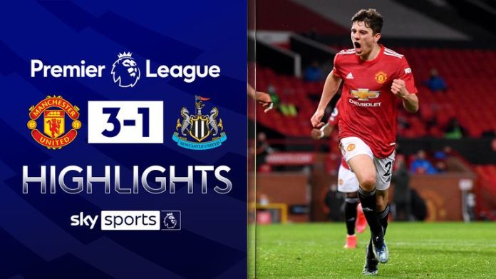 Manchester United 3-1 Newcastle