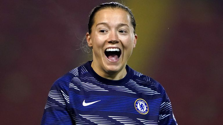 Fran Kirby joined Chelsea from Reading in 2015