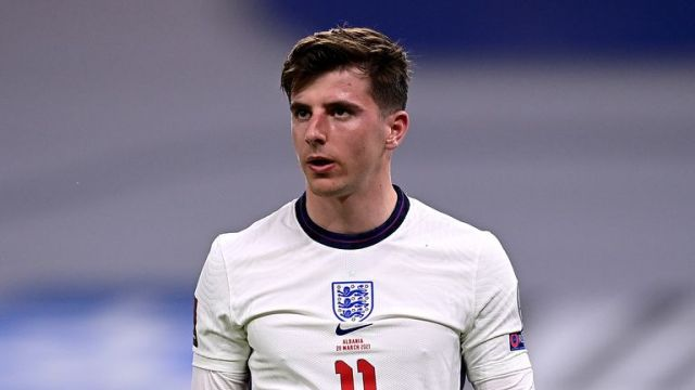 Mason Mount missed training with England on Tuesday afternoon