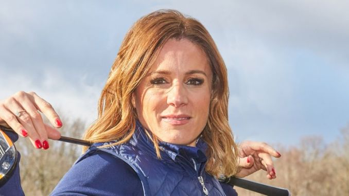 Natalie Pinkham is one of the four cadets