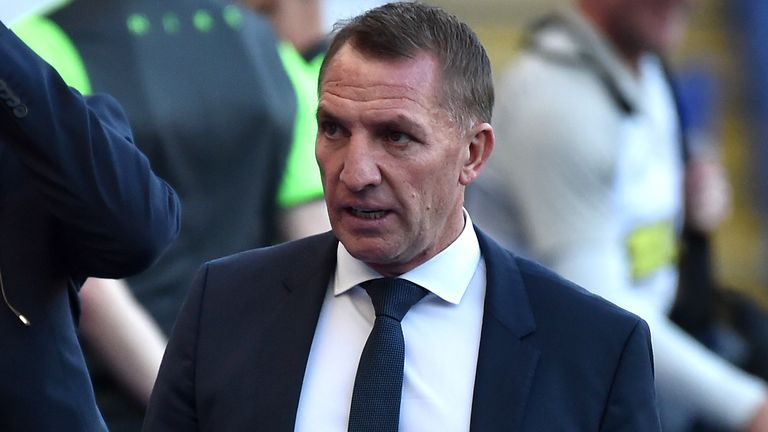 Leicester boss Brendan Rodgers (PA)