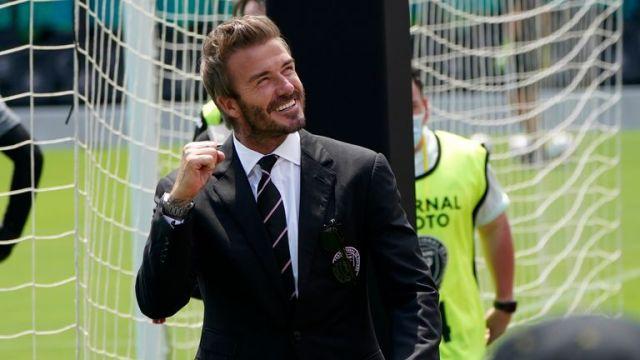 David Beckham was present for Inter Miami's defeat to LA Galaxy