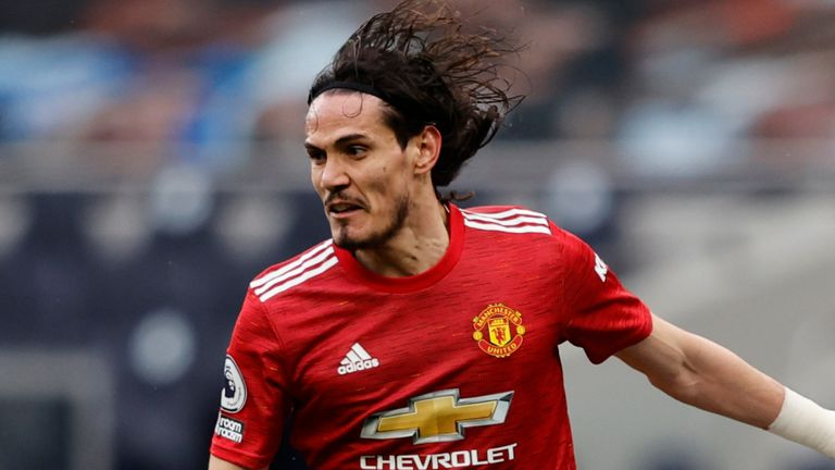 Edinson Cavani is yet to decide whether to stay at Man Utd for one more season