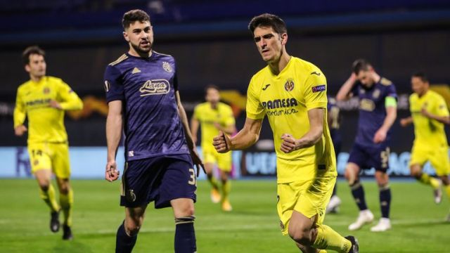 Gerard Moreno's goal was the difference between Villarreal and Dinamo Zagreb