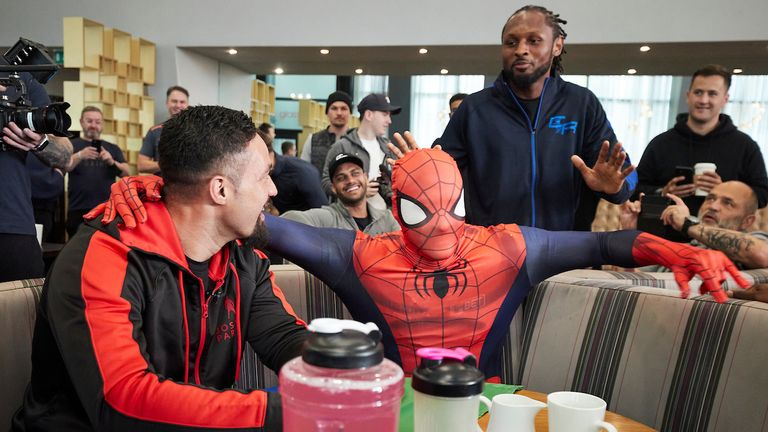 Craig 'Spider' Richards was unimpressed with Spiderman's appearance!