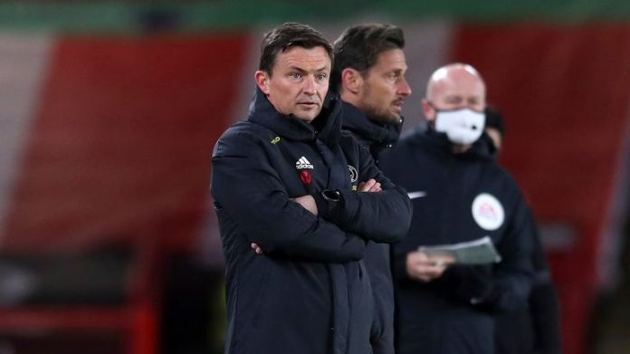Paul Heckingbottom has seen his Sheffield United side concede 10 goals in his three Premier League games in charge