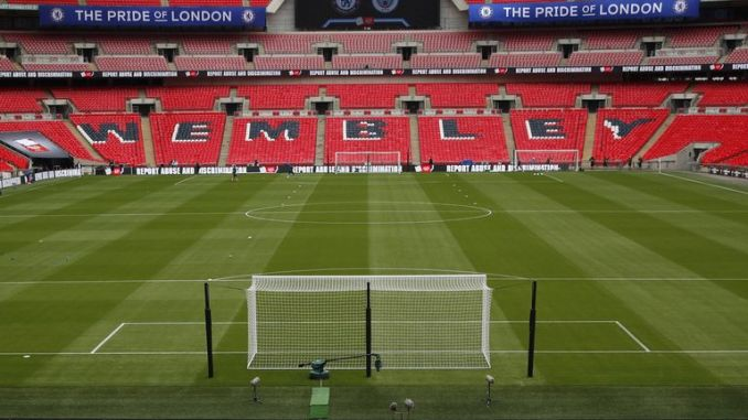 Fans will be returning to Wembley Stadium for the FA Cup semi-final between Southampton and Leicester