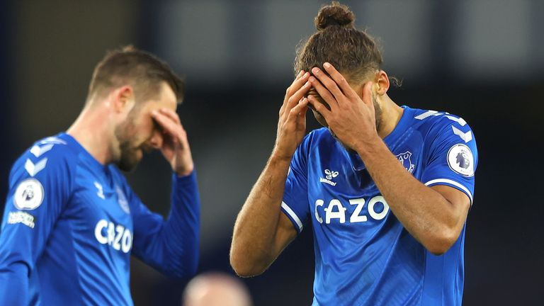 Everton were beaten for an eighth time at Goodison Park this season