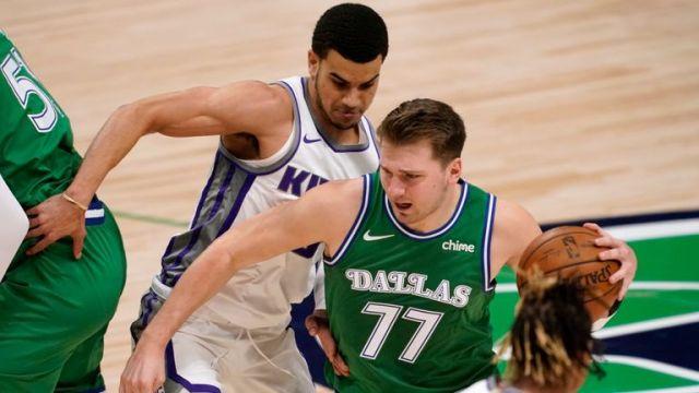 Luka Doncic of the Dallas Mavericks