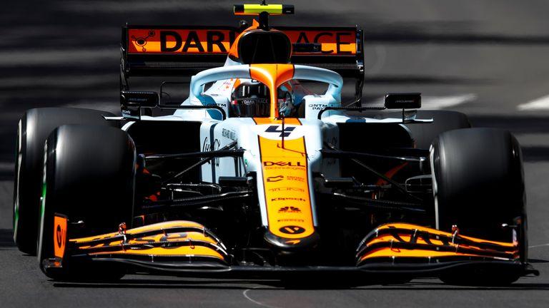 picture Mclaren F1 Monaco Livery Wallpaper 4K sky sports