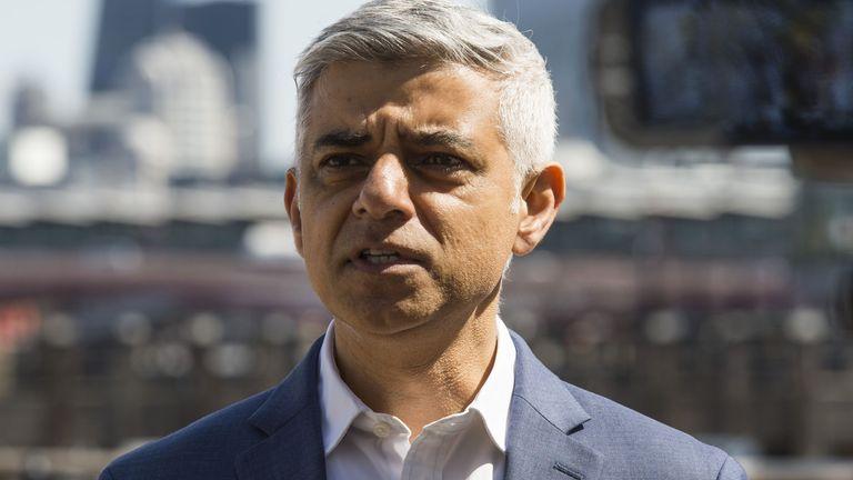 Sadiq Khan is seeking re-election as London mayor