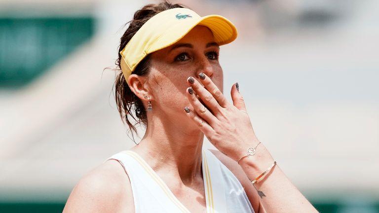 French Open: Anastasia Pavlyuchenkova will meet Barbora Krejcikova in Saturday's women's singles final | Tennis News | Sky Sports