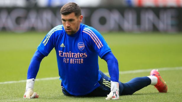 Mat Ryan spent the second half of last season on loan at Arsenal and played three Premier League games for Mikel Arteta's side.