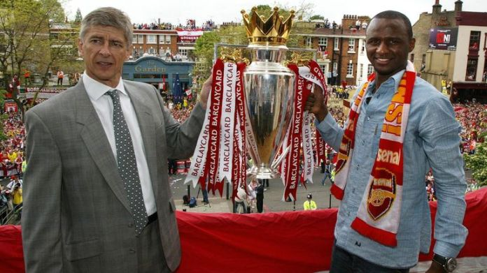 Arsene Wenger has backed his former captain to succeed at Crystal Palace