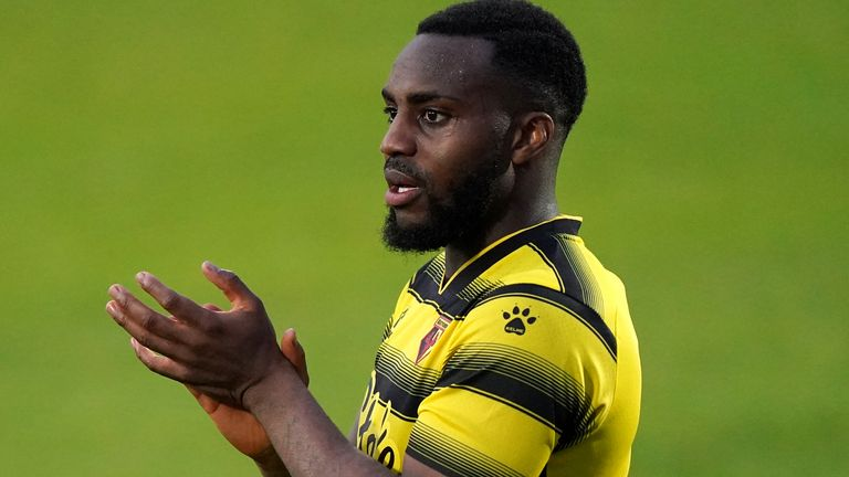 Ex-Spurs and England defender Danny Rose featured in front of Watford's fans for the first time in their 1-1 draw at Stevenage