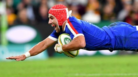Gabin Villiere's two tries had given France the lead