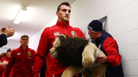 Sam Warburton captained the Lions on two tours