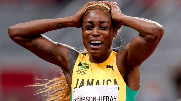 'Anything is possible,' Thompson-Herah said after her 100m heroics