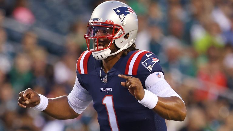 Watch the highlights of former New England Patriots quarterback Cam Newton during the 2020 NFL season.
