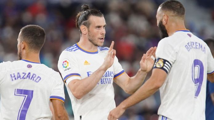 Bale started and scored in Real Madrid's 3-3 draw with Levante on the weekend
