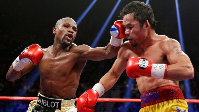 Mayweather beat Pacquiao in the richest fight ever