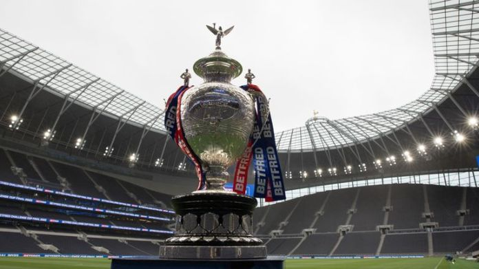 Tottenham's stadium will host the 2022 rugby league Challenge Cup (Credit: SWNS)