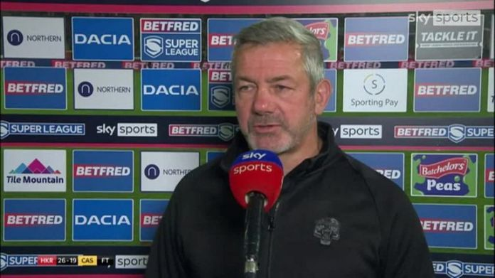 Daryl Powell said although their were some decisions that went against Castleford, Hull KR were the better team