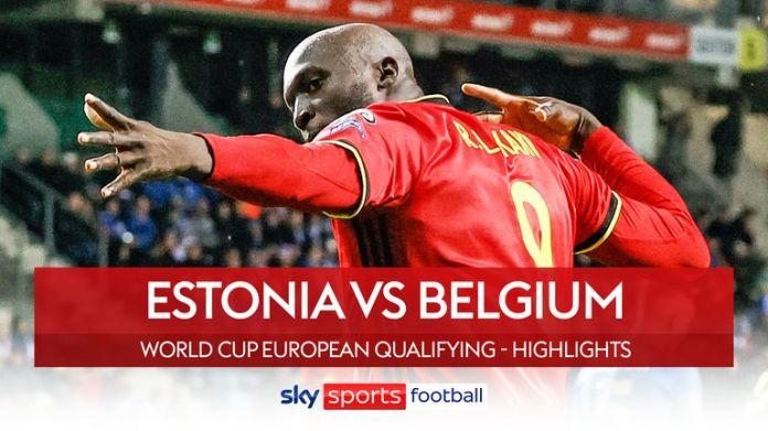Estonia v Belgium