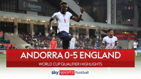 Andorra v England