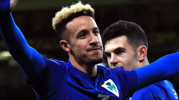 Callum Robinson followed up his goals at the weekend with a hat-trick on Tuesday