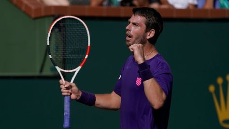 Cameron Norrie knocked out Grigor Dimitrov to reach the Indian Wells final (AP)