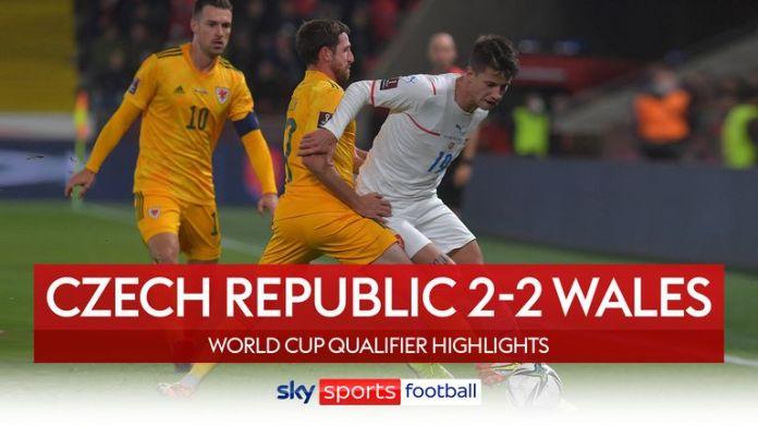 Czech Republic 2-2 Wales