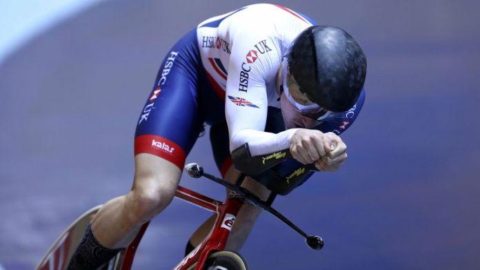 Dan Bigham has taken Sir Bradley Wiggins' British Hour record