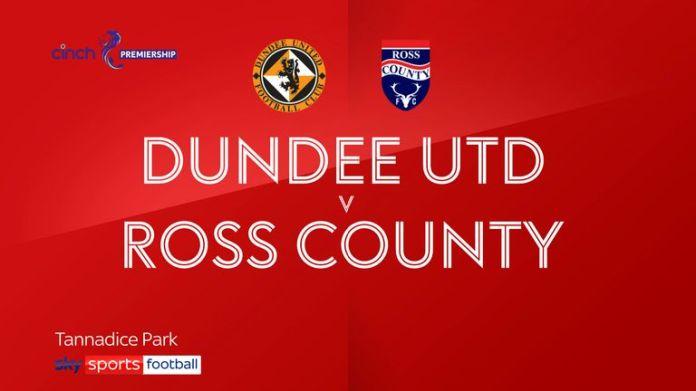 Dundee Utd 1-0 Ross County
