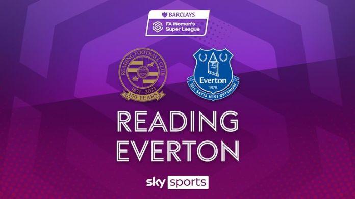 WSL: Reading v Everton