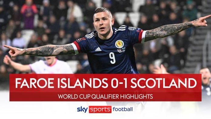 Faroe Islands 0-1 Scotland