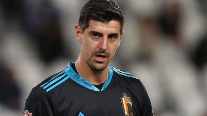 Real Madrid and Belgium goalkeeper Thibaut Courtois has made 14 appearances for club and country across all competitions so far this season