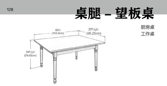 kitchen table legs appliance consumer reviews 一些实木家具的结构图解 都是关于桌方面的 桌腿望板桌