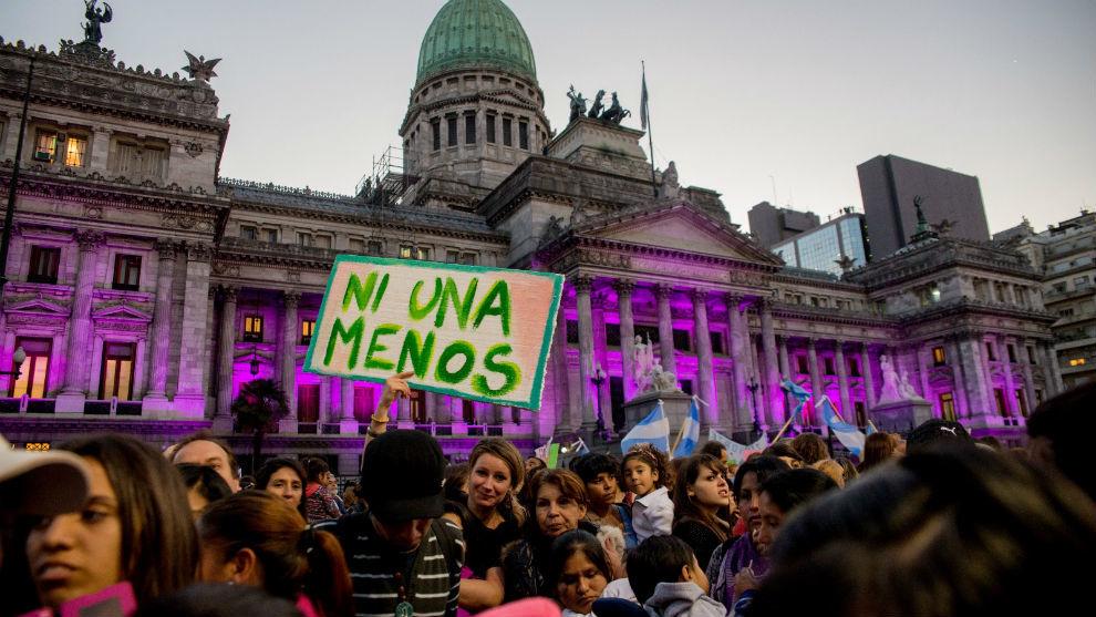 Resultado de imagen para ni una menos argentina