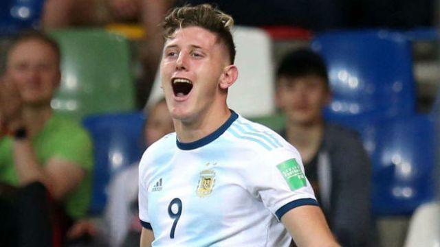 Selección Argentina: Adolfo Gaich y su relación de amor con la ...