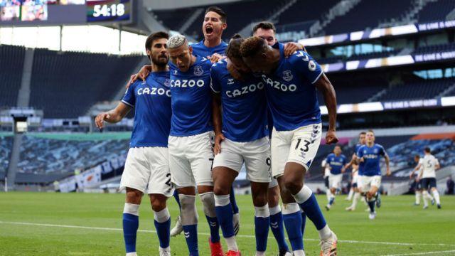 Tottenham vs Everton: James y su Everton meten miedo en la Premier ganando  al Tottenham de Mourinho | MARCA Claro Argentina