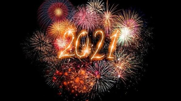 ¡Feliz año 2021!