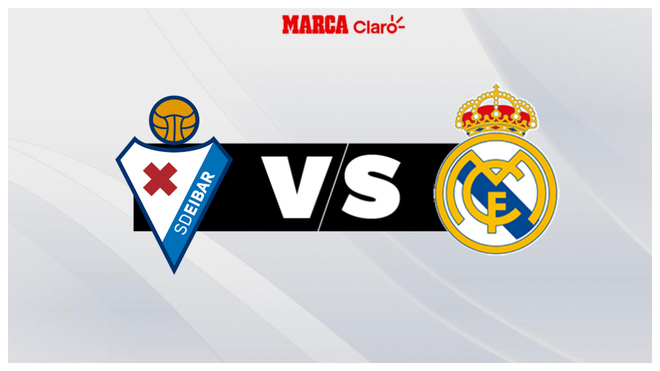 Eibar vs Real Madrid, live minute by minute.