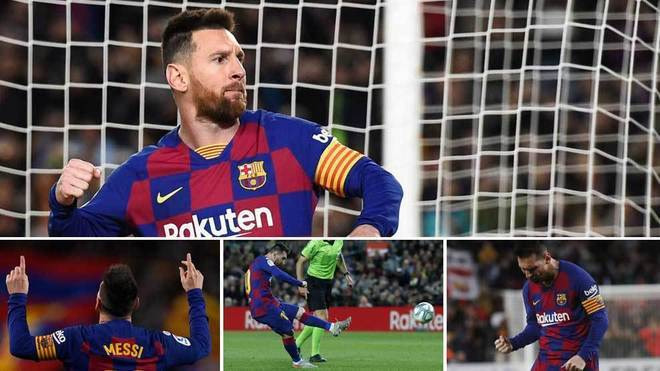 Lionel Messi is still plugged in LaLiga.