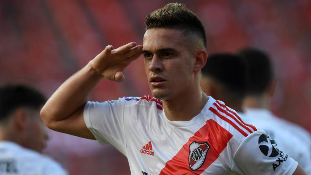 El colombiano Rafael Santos Borré deja su huella en un River Plate histórico. Está a 6 tantos de ser el goleador de la era Gallardo