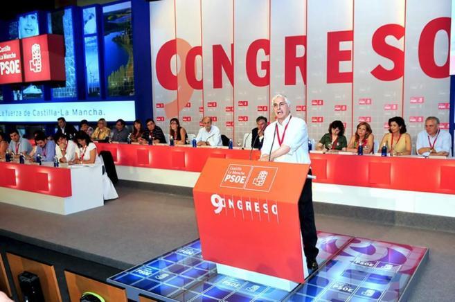 El ex presidente de la Junta de Castilla-La Mancha en una acto del...