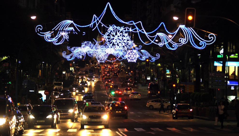 Alicante tendr iluminacin navidea en toda la ciudad