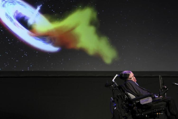 stephen hawking going to space